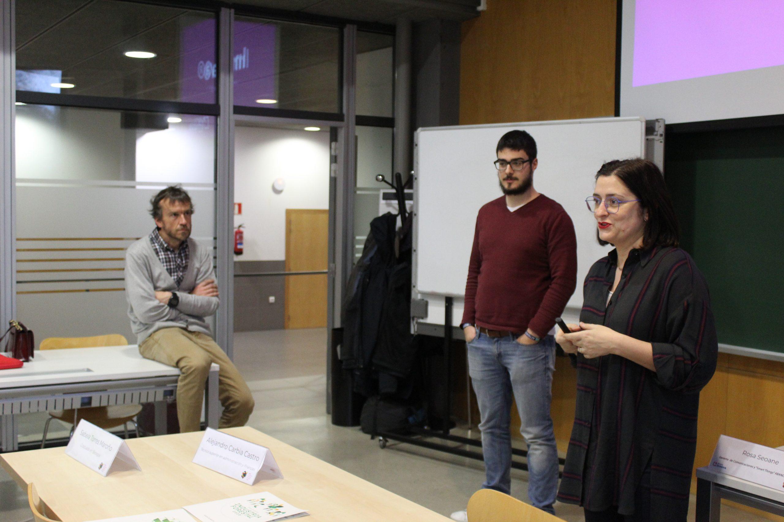 Rosa Seoane y Alejandro Bernardo nos presentan las claves del programa - Intraemprendimiento en ABANCA Innova