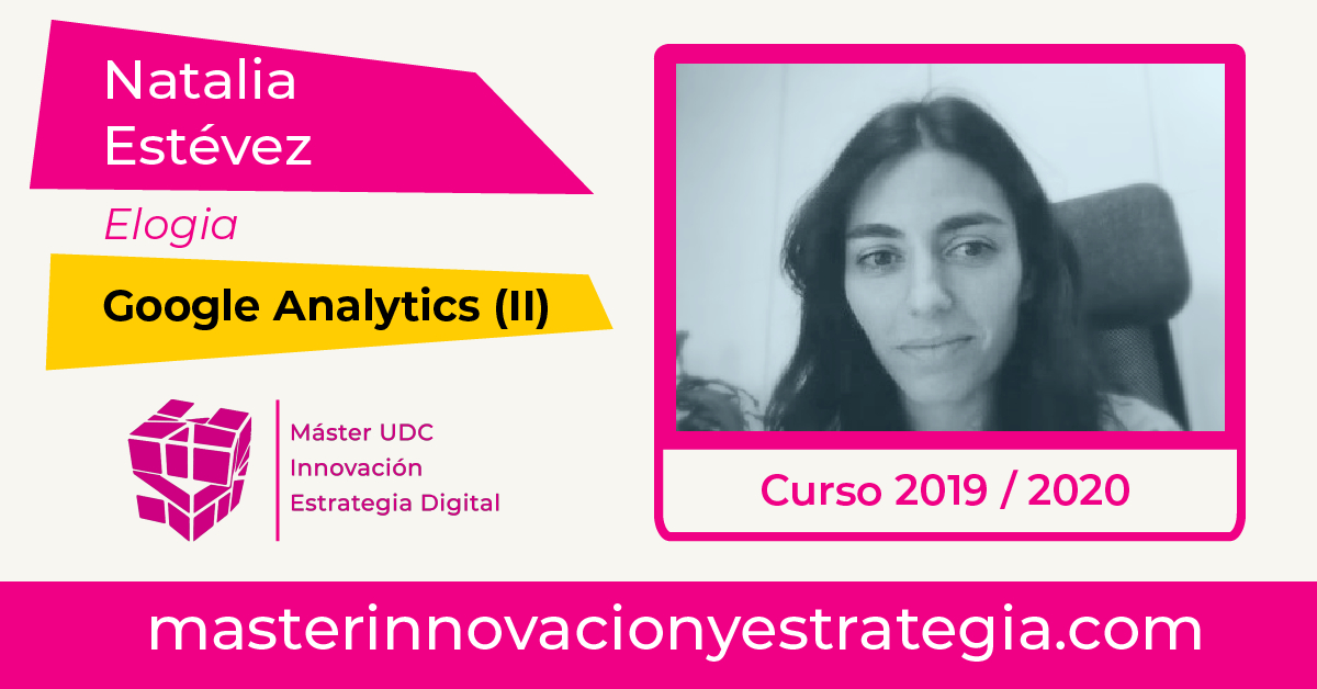 Google Analytics con Natalia Estévez